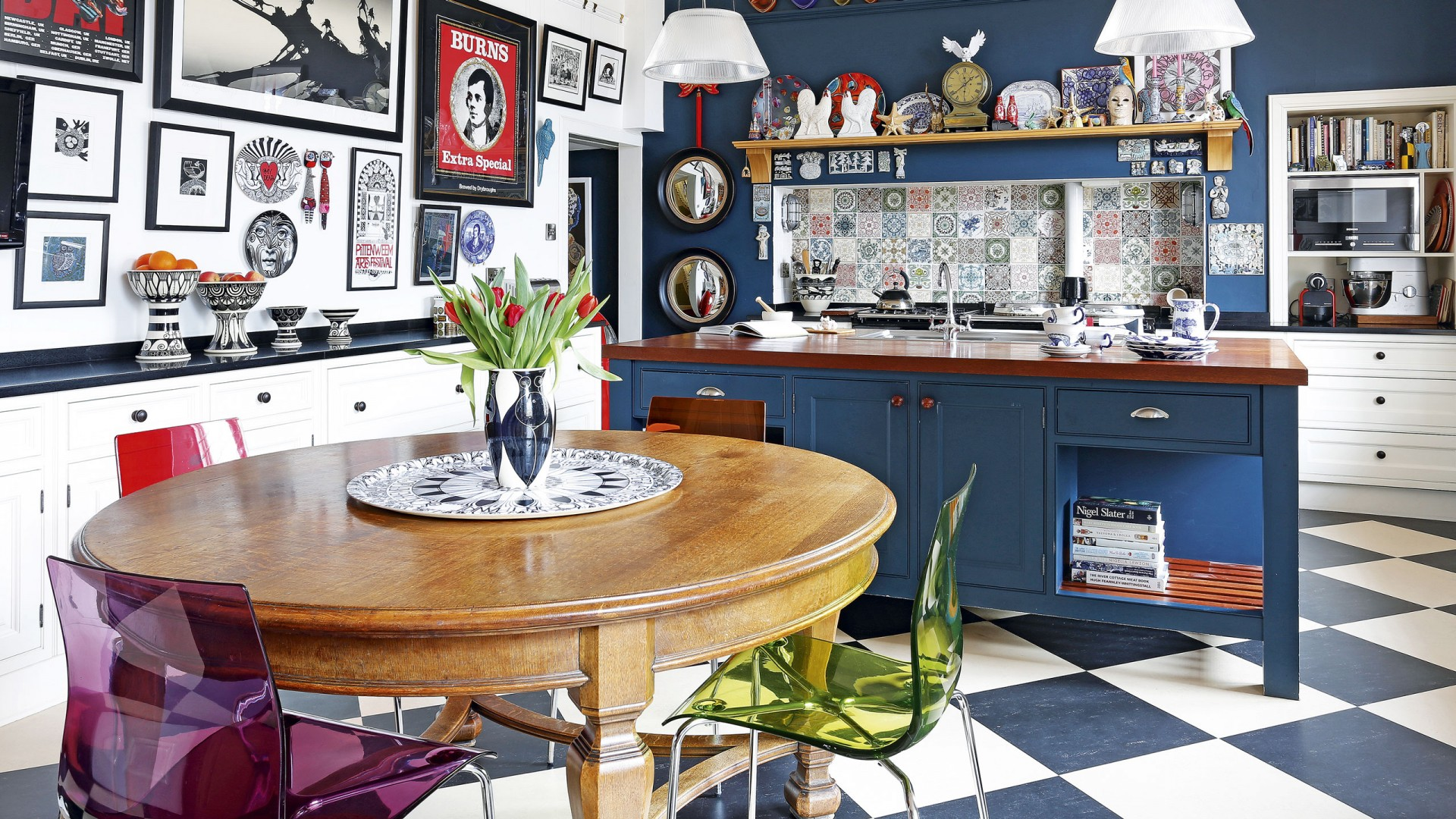 how to achieve a retro inspired kitchen and hipvan