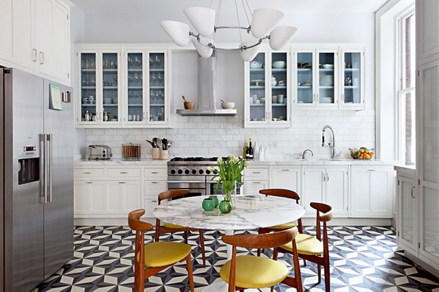 how to achieve a retro inspired kitchen and | hipvan