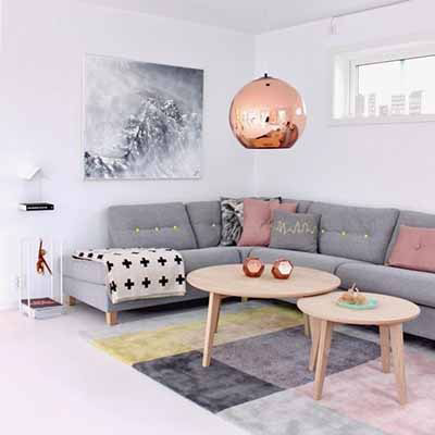 Beau Something Metallic: A Copper Pendant Lamp That Lights Up The Room Ñ  Literally.
