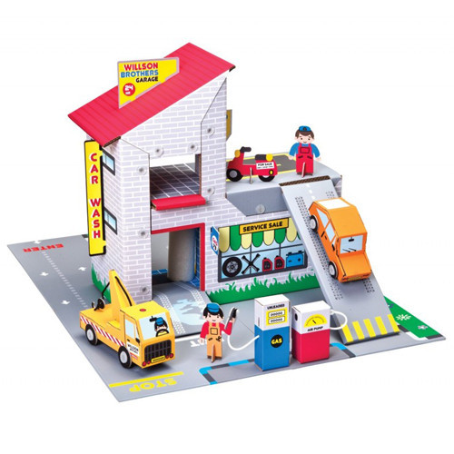 Willson Bros. Garage - Garage Theme Playset