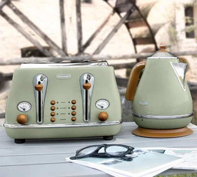 De'Longhi Iconic Vintage Kitchen Appliances